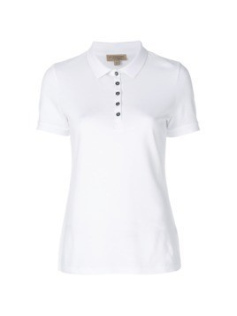 Burberry classic polo shirt - White