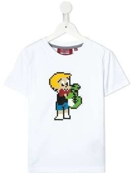Mostly Heard Rarely Seen 8-Bit Richie crew-neck T-shirt - White