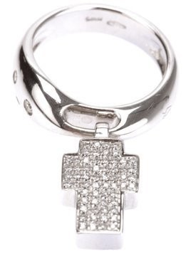Gavello cross ring - Metallic