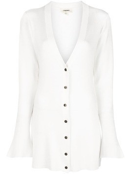 L'agence knitted cardigan - White