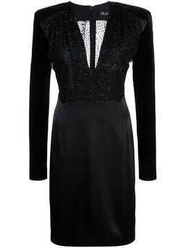 Haney Stam fitted dress - Black