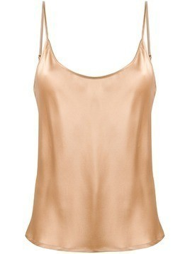 La Perla silk pyjama top - Neutrals