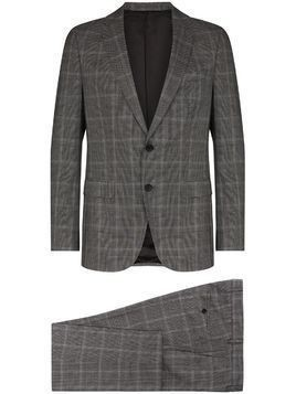 Hugo Hugo Boss checked two piece suit - Grey