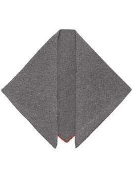 Cashmere In Love Bea triangle scarf - Grey
