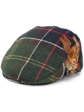 Barbour feather paperboy cap - Green