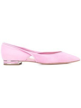Casadei Twisted ballerinas - Pink