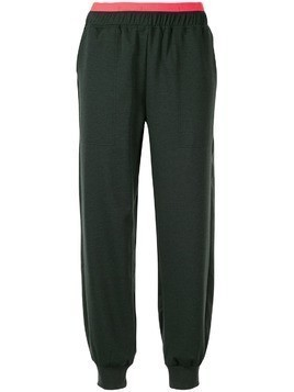LNDR loose-fit track trousers - Green