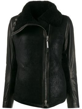 Isaac Sellam Experience asymmetric zipped jacket - Black