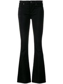 Citizens Of Humanity textured flared trousers - Black