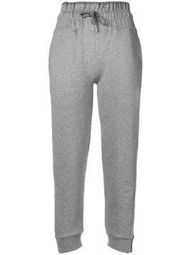 Adidas By Stella Mccartney cropped track pants - Grey
