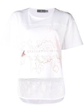 Adidas By Stella Mccartney short sleeve graphic T-shirt - White