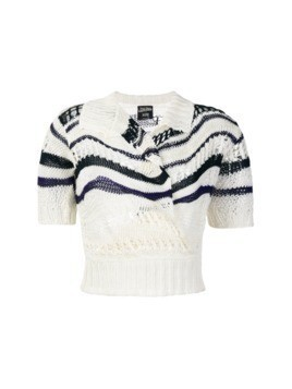 Jean Paul Gaultier Vintage knitted top - White