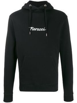 Fiorucci Spaceship relaxed-fit hoodie - Black