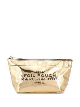 Marc Jacobs Foil makeup bag - Gold