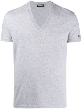 Dsquared2 printed logo T-shirt - Grey