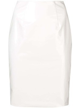 Federica Tosi fitted skirt - White