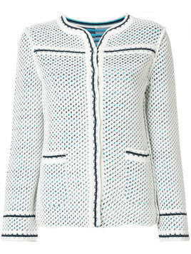 Charlott short knit jacket - Blue