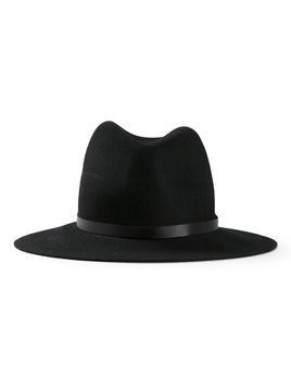 Rag & Bone fedora hat - Black