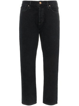 Goldsign the low slung with clean set of pockets jeans - Black