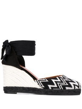 Castañer Carina wedge sandals - Black