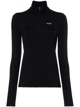 Colmar half-zip base layer - Black