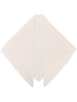 Cashmere In Love Bea triangle scarf - White