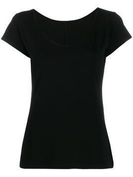 Styland u-neck T-shirt - Black