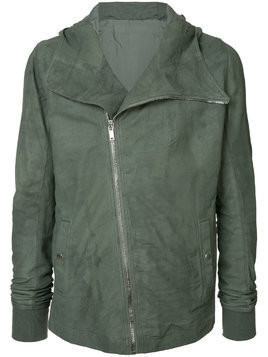 Rick Owens hooded jacket - Green