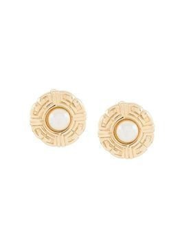 Givenchy Pre-Owned 1980s clip-on earrings - GOLD
