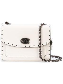 Coach studded Parker bag - White