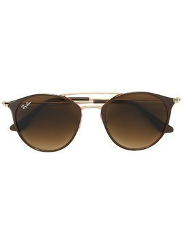 Ray-Ban round shaped sunglasses - Brown