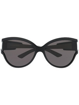 Balenciaga Eyewear Unlimited round sunglasses - Black