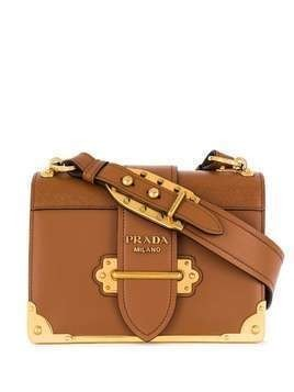 Prada Cahier shoulder bag - Brown