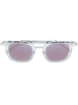 Thierry Lasry Gendery square sunglasses - Metallic