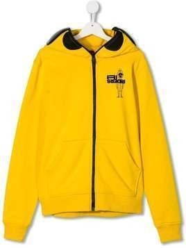 AI Riders on the Storm TEEN zip-up hoodie - Yellow