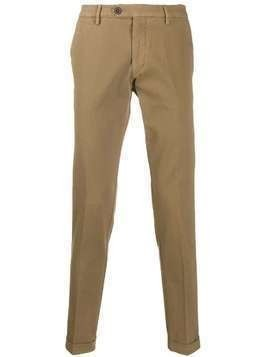 Al Duca D'Aosta 1902 straight leg trousers - NEUTRALS