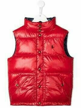 Ralph Lauren Kids hawthorn quilted gilet - Red
