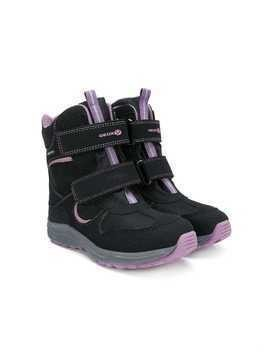 Geox Kids touch strap boots - Black