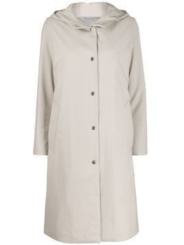 Mackintosh Chryston hooded coat | LM-1019FD - NEUTRALS