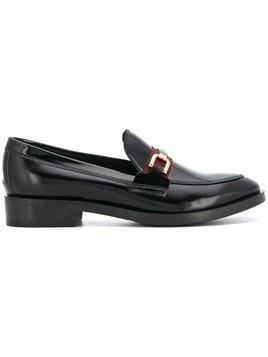 Geox classic buckle loafers - Black