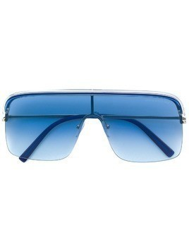 Cutler & Gross oversized square sunglasses - Blue