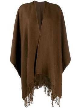 Holland & Holland poncho-style cape coat - Brown