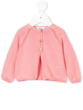 Knot Ajours cardigan - Pink & Purple