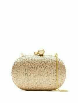 Isla strass clutch - GOLD