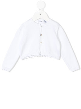 Knot Eve bolero jacket - White