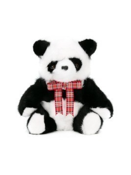 Liska panda teddy bear toy - Black