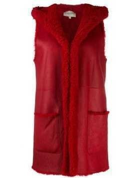 Holland & Holland gilet-style coat - Red
