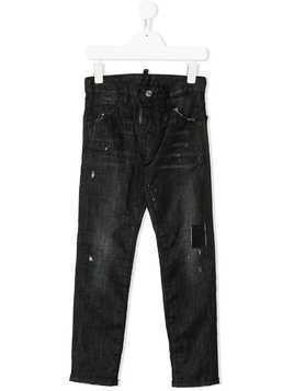Dsquared2 Kids distressed jeans - Black