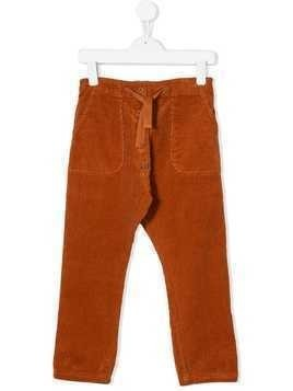 Emile Et Ida corduroy trousers - Orange