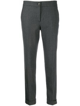 Etro cropped trousers - Grey